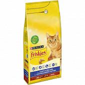 Friskies croquettes chat stérilisé boeuf 2kg