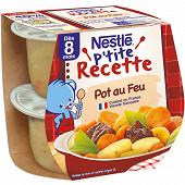 Nestlé p'tite recette pot-au-feu dès 8 mois 2x200g