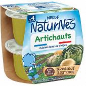 Nestlé naturnes artichauts dès 4/6 mois 2x130g
