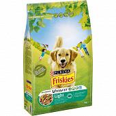 FRISKIES Vitafit Light Croquettespour chien adulte au Poulet et Légumes ajoutés- 4 KG