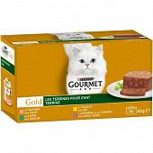 Gourmet gold terrines 4x85g
