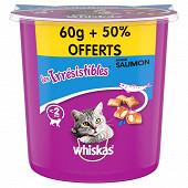 Whiskas irrésistible saumon 60g +50% oft