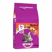 Whiskas croquette chat boeuf 1.75kg