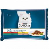 Gourmet Perle sachet les filettines 4x85g