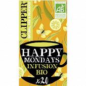 Clipper Infusion happy mondays 45g