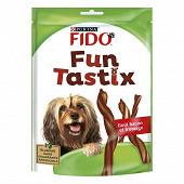 Fido fun tastix jambon et fromage 150g chien