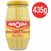 Amora moutarde douce bocal 435g