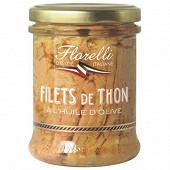 Florelli filets de thon a l'huile d'olive 200 g