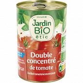 Jardin bio étic double concentré de tomates bio 140g