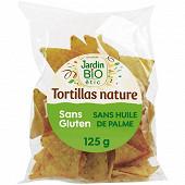 Jardin bio étic tortillas nature sans gluten 125g