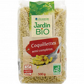 Jardin Bio coquillettes cuisson express bio 3min 500g