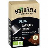 Naturela capsules déca bio boîte de 10 55g