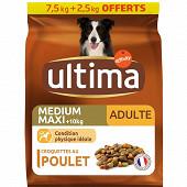 Ultima médium maxi adult 7.5kg+2.5kg