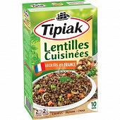 Tipiak lentilles vertes cuisinées 2x 120g