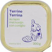Terrine lapin pour chien 300g