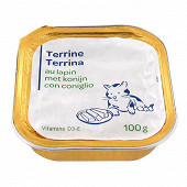 Terrine lapin pour chat 100g