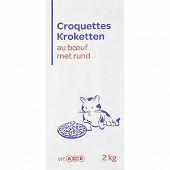 Croquettes au boeuf pour chat 2kg