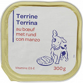 Terrine boeuf pour chien 300g