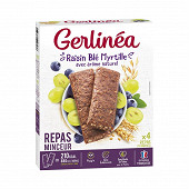 Gerlinéa barres raisin myrtille & blé 248g