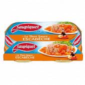 Saupiquet thon sauce à l'escabèche 135gx2