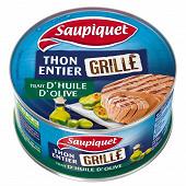 Saupiquet thon grillé avec un trait d'huile d'olive 115g