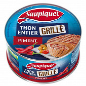 Saupiquet thon grille au piment 115g