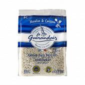 Le Guérandais gros sel séché spécial moulin sachet 500g