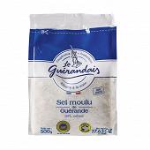 Le Guérandais sel moulu sachet 500 g tradition