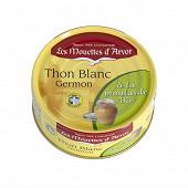 Les mouettes d'Arvor thon blanc à la moutarde bio 160g