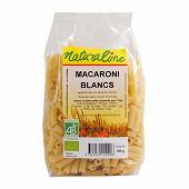 Naturaline macaronis blancs  bio 500 g
