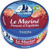 Petit Navire emiette de thon piment d'Espelette 110g