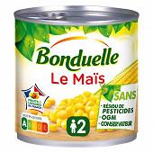 Bonduelle maïs sans résidu de pesticide 1/2 285g