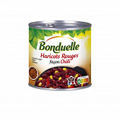 Bonduelle haricots rouges cuisinés façon chili 1/2 400g