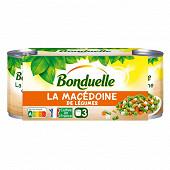 Bonduelle macédoine 1/4 lotx3 390g