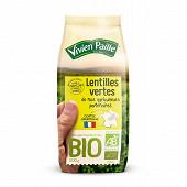 Vivien paille lentilles vertes bio de nos agriculteurs 500g