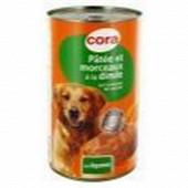 Cora terrine pour chien à la volaille aux légumes 1230g