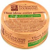 Patrimoine Gourmand thon blanc germon à l'huile d'olive vierge extra 160g
