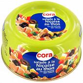 Cora salade niçoise au thon 250g