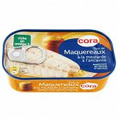 Cora filets de maquereaux à la moutarde à l'ancienne 1/6 113g