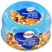 Cora salade américaine au thon 250g
