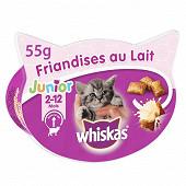 Whiskas friandises au lait junior 55g