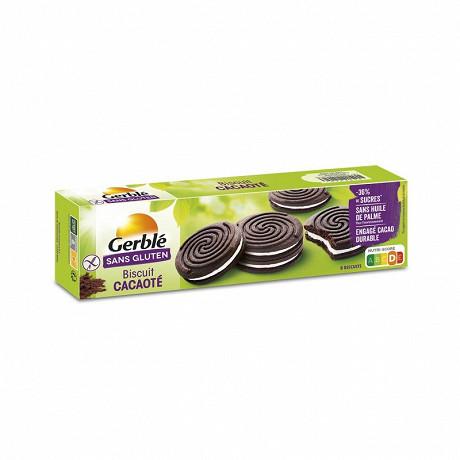 Gerblé biscuit cacaoté sans gluten 125g