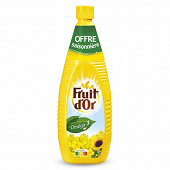 Fruit d'or huile 1 litre offre saisonnière