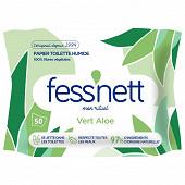 Fess'nett peaux sensibles lingettes x50