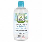 So Bio lotion micellaire nettoyante aloé vera bio 500ml