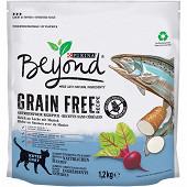 BEYOND croquettes pour chats Grain Free au Saumon avec du Manioc - 1,2kg
