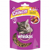 Whiskas trio crunchy friandises saveurs volailles pour chat 55g