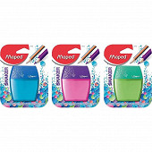 Taille crayons shaker reseve 2 trous