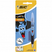 Bic stylo plume easy clic décor monster
