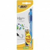 Bic porte mines bic velocity pro pencil  0.7 mm + 12 mines hb offertes